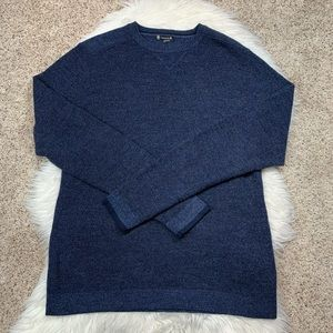 Smartwool Navy Blue Pull Over Crewneck Sweater